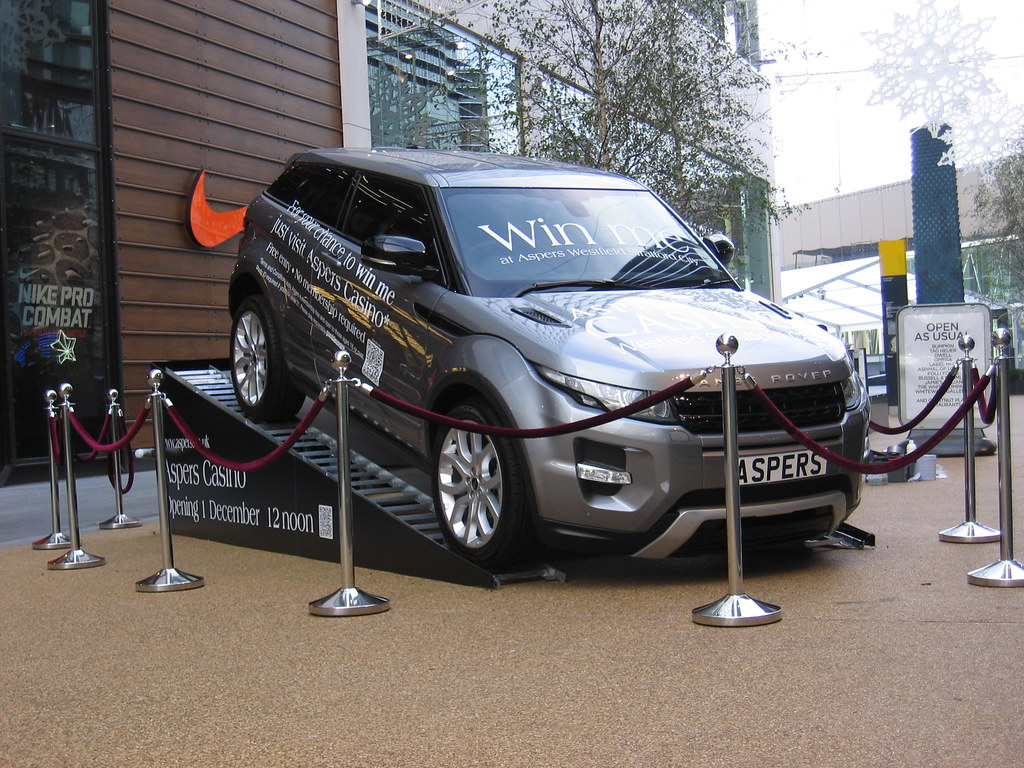 Westfield Stratford CityLondonASPERS Casino Win A Brand Flickr - Car display