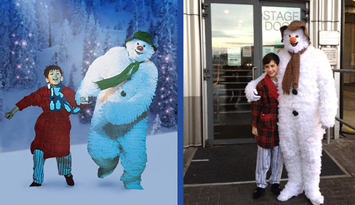 #The Snowman made a stop @The_Lowry before flying off to @manarndale for a photoshoot | by The Lowry, Salford