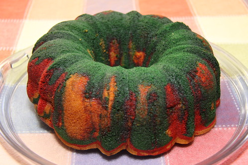 Christmas Peppermint Bundt Cake