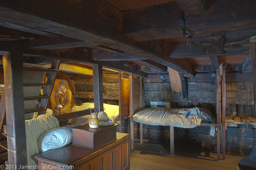 Mayflower interior | by .James Brian Clark