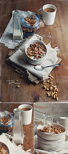 Peanut & Oat Cereal | by V.K.Rees Photography