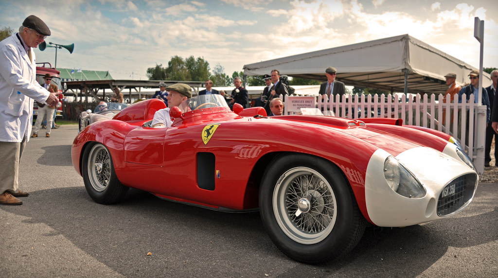 Juan Manuel Fangio S 1956 Ferrari 860 Monza 0602m 2011 G
