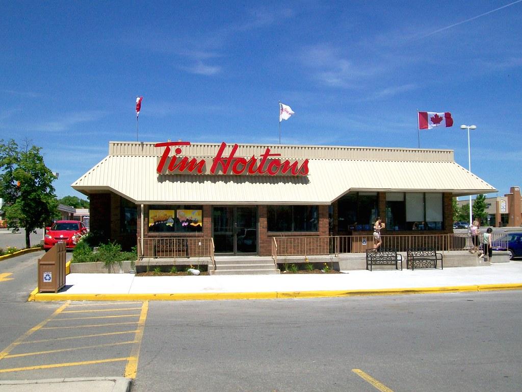 Tim Hortons Restaurant, Oakville Ontario
