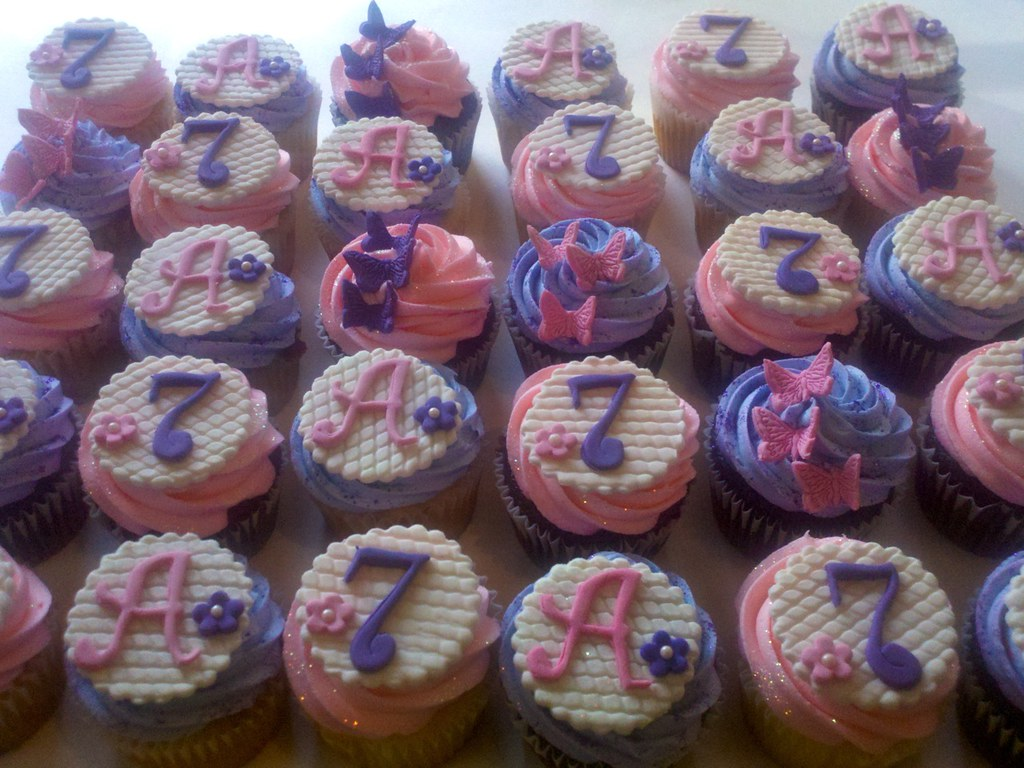 7 year old girl birthday party personalizedcupcakesforsevenyearoldbirthdayparty personalizedcupcakesforsevenyearoldbirthdaypartyjpu2026 flickr