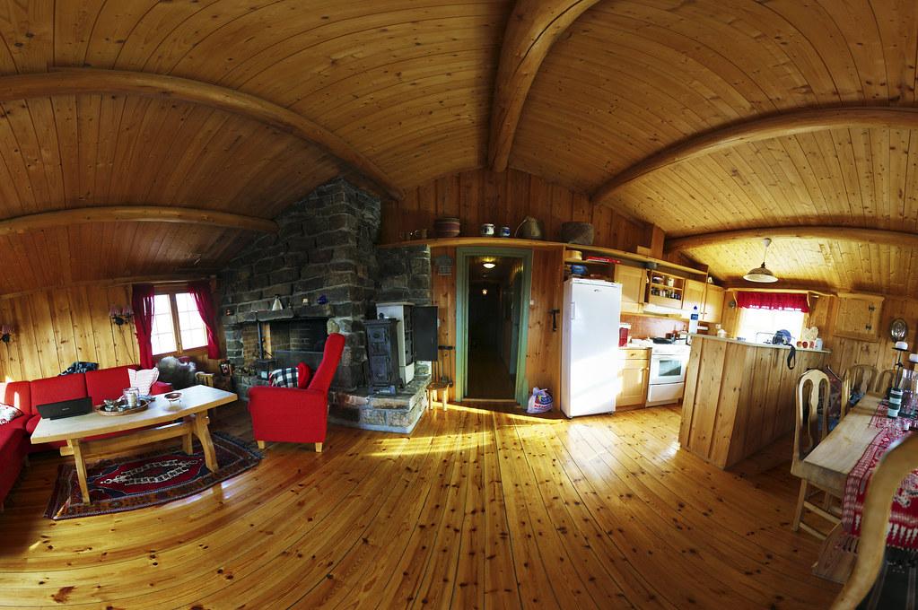 Inside Norwegian Cottage