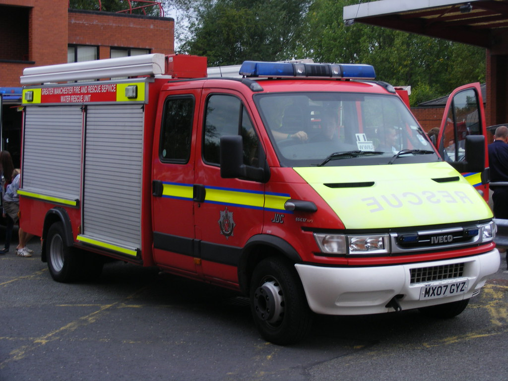 ... 1339 - GMFRS - Greater Manchester Fire And Rescue Service - Iveco Daily  65C17 - JDC