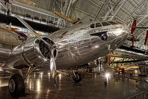 Chantilly VA - Steven F. Udvar-Hazy Center - Pan American World Airways - Boeing 307 Stratoliner Clipper Flying Cloud (NC19903) 01 | by Daniel Mennerich