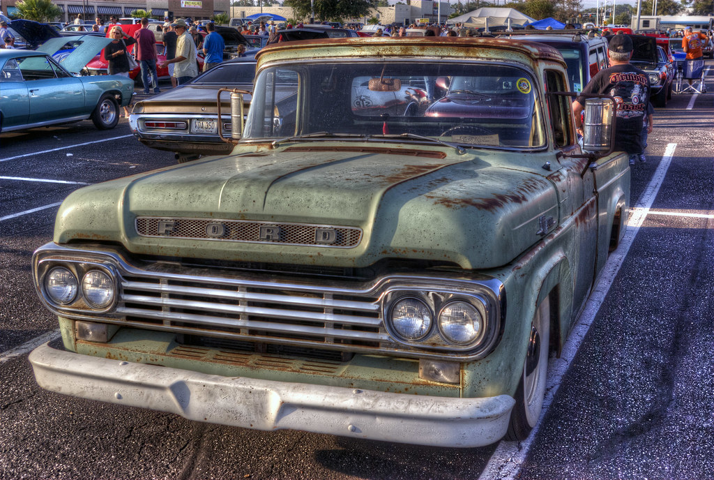 Old Ford Pickup | Old Ford pick-up truck at Cruising the Coa… | Flickr