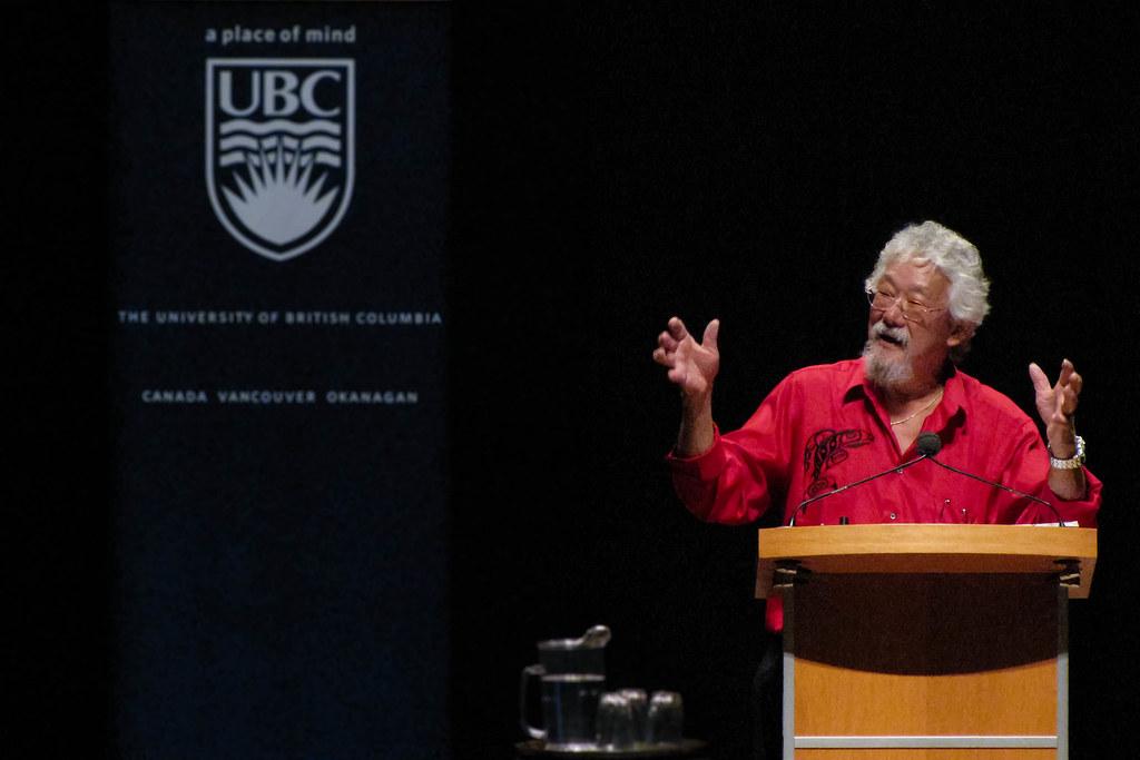 David Suzuki Ubc
