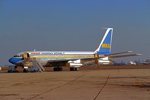 Merpati Nusantara Airlines  Boeing 707