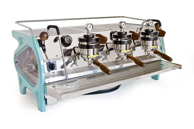 single origin 39 s custom la marzocco strada courtesy of. Black Bedroom Furniture Sets. Home Design Ideas