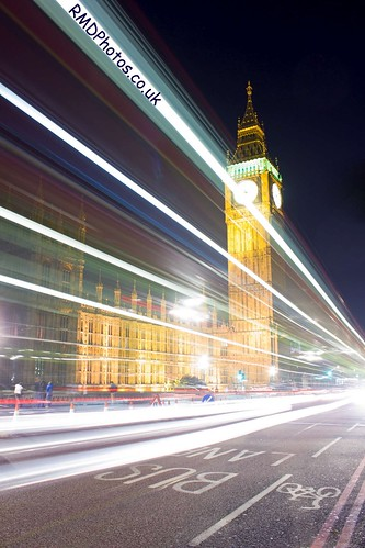 Light streaks past Westminster | by reiver iron - RobDeakinPhotography.co.uk