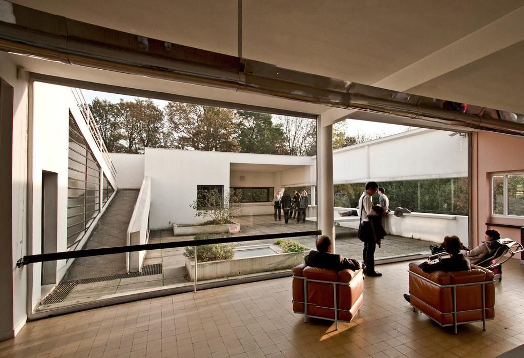 Villa Savoye Interior Rodrigo Apolaya Flickr