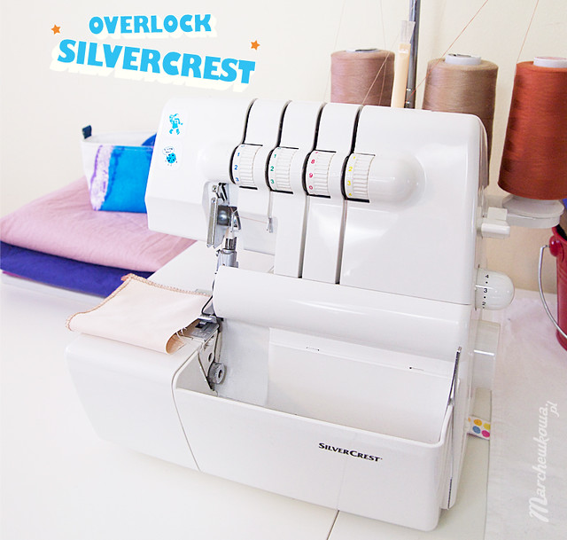 Maquina de coser buscar: Overlock silvercrest