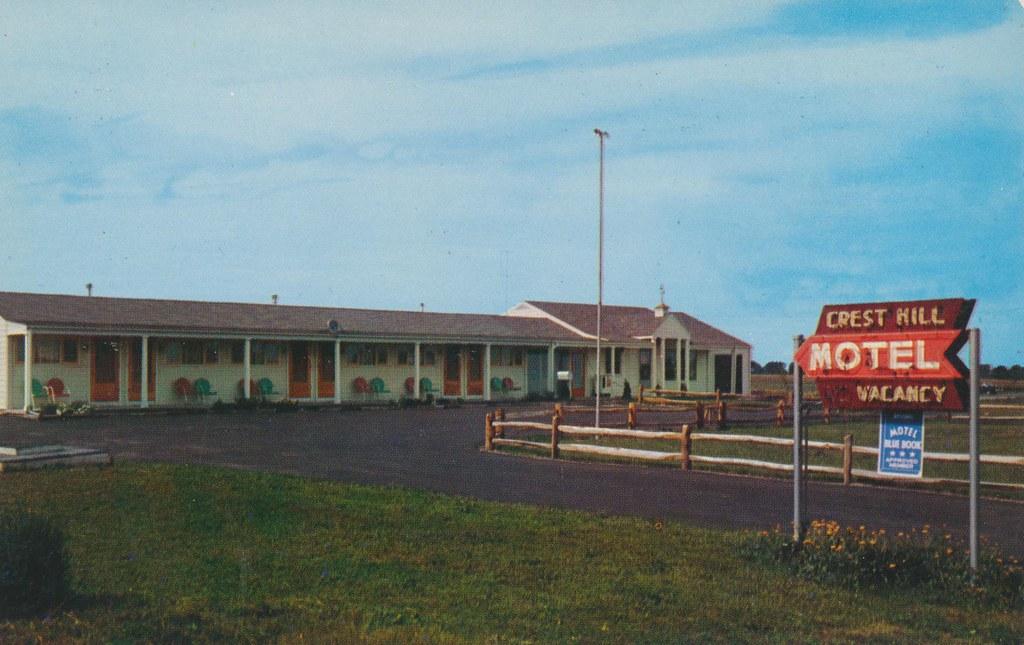 Crest-Hill Motel - East Avon, New York