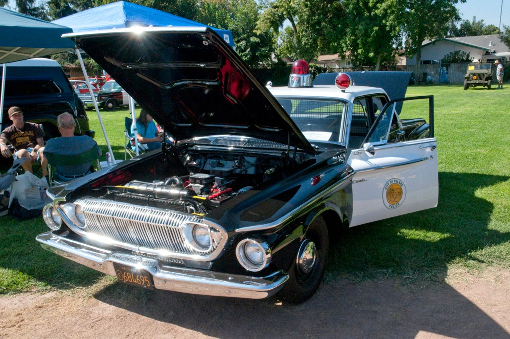 Tulare 1962 Dodge Dart Front A Tulare Police Car At The Ri Flickr