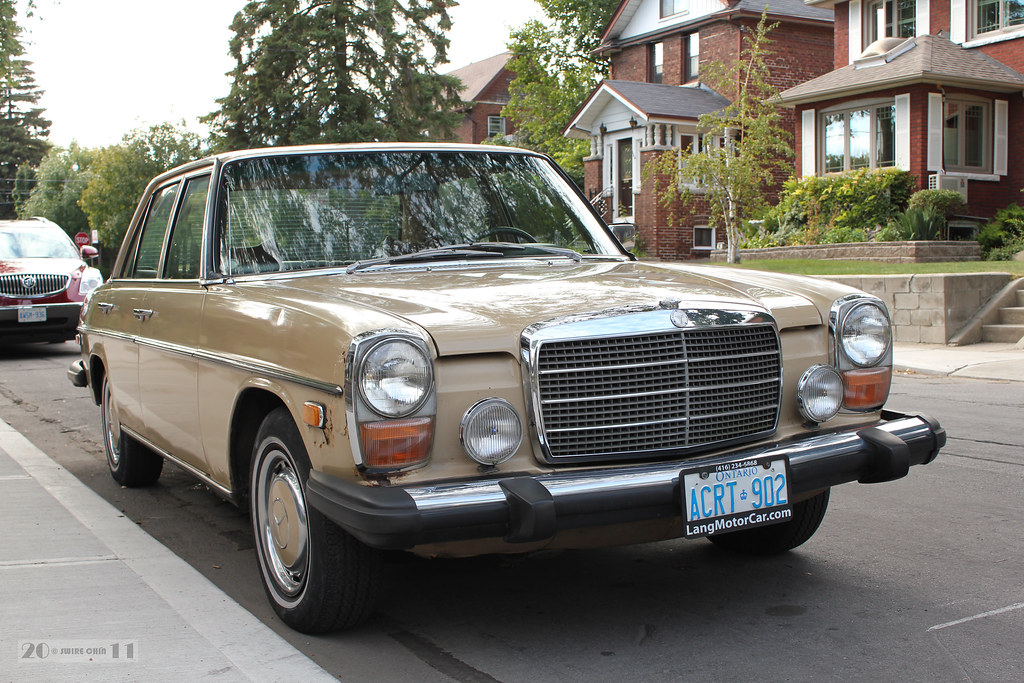 1974 mercedes benz 280 front canadian pacific flickr for 1974 mercedes benz 280