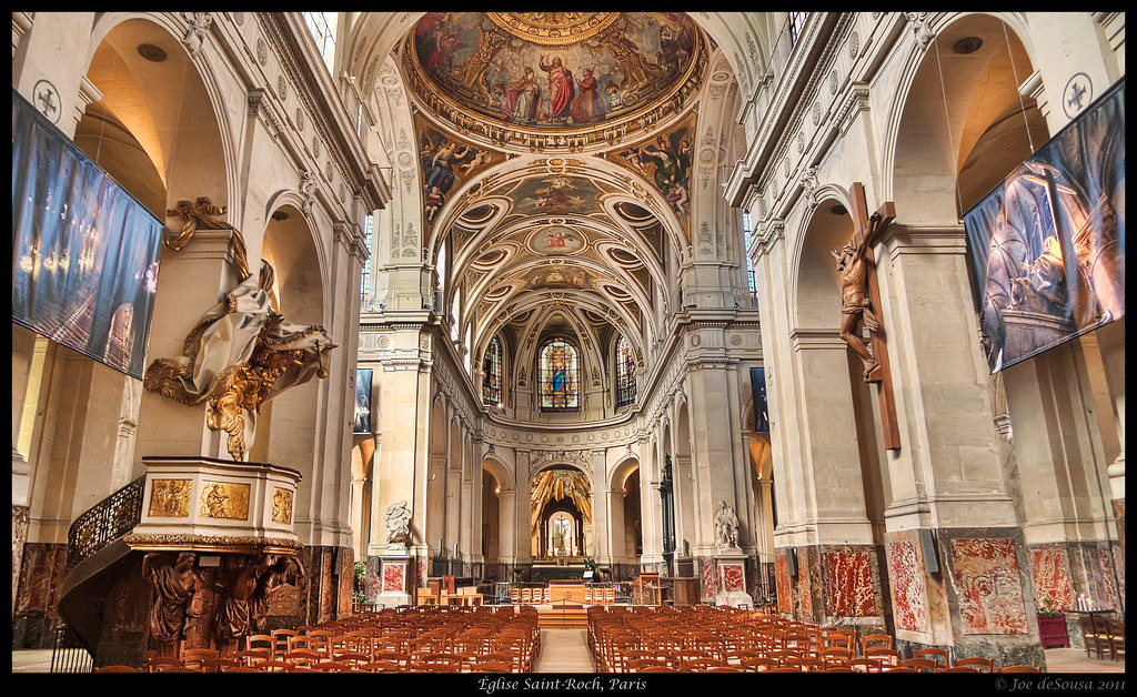 201 Glise Saint Roch Paris Saint Roch Church In Paris