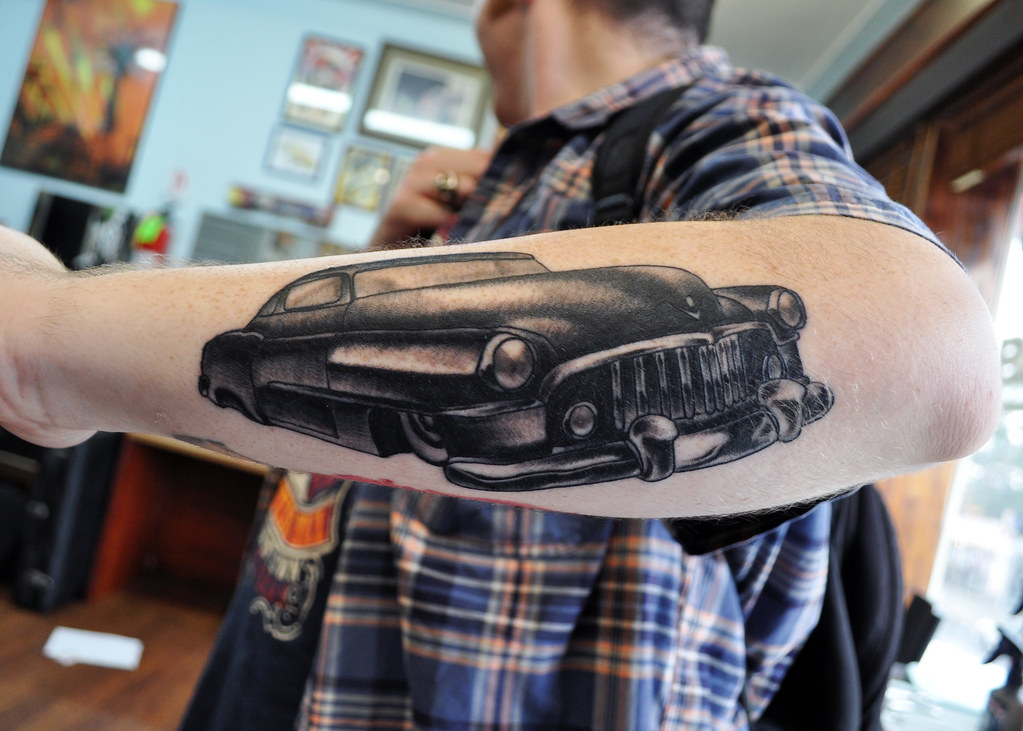 Classic Hot Rod Tattoo Citizen Ink Flickr