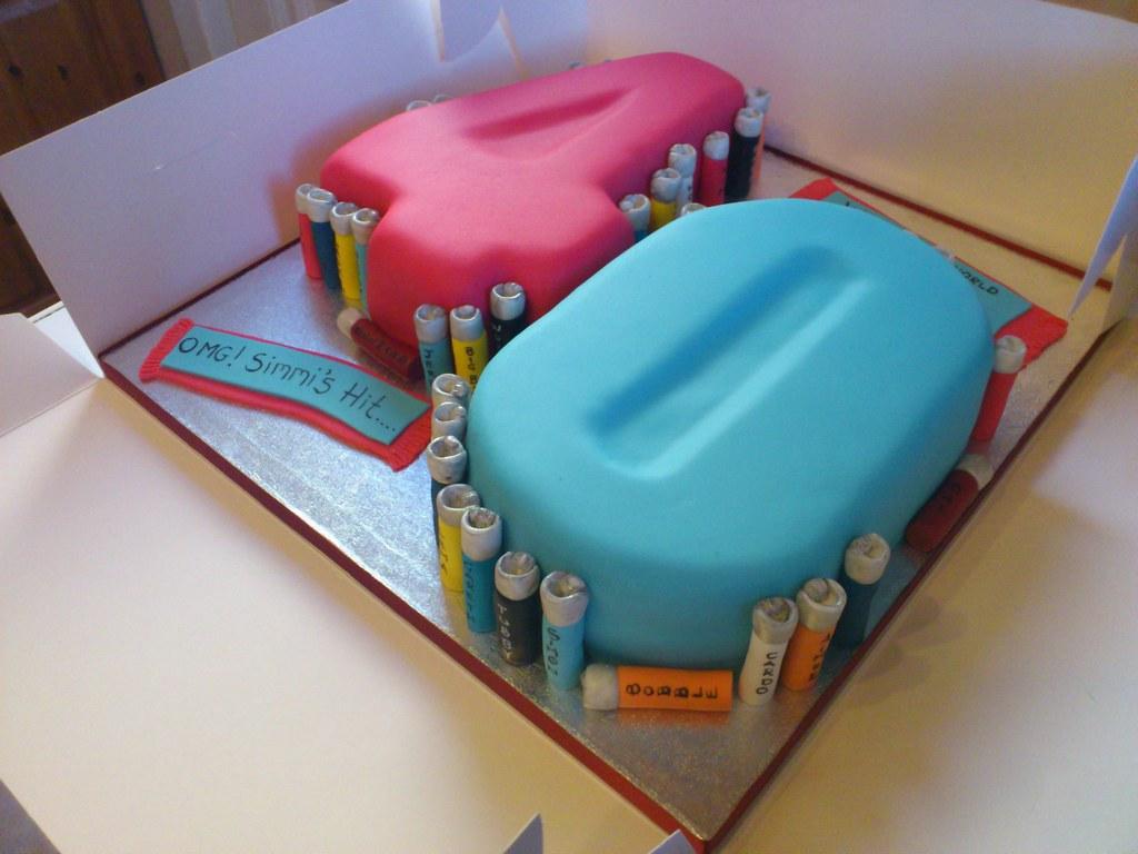 40th Birthday Cake Liz Flickr