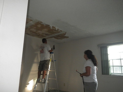 Removal of Acoustic Ceiling in Master Bedroom | by Valowski