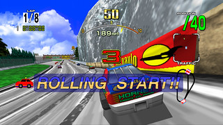 PSN: Daytona USA - Rolling Start | by PlayStation.Blog