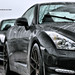 2012 Nissan GTR on ADV.1 wheels.