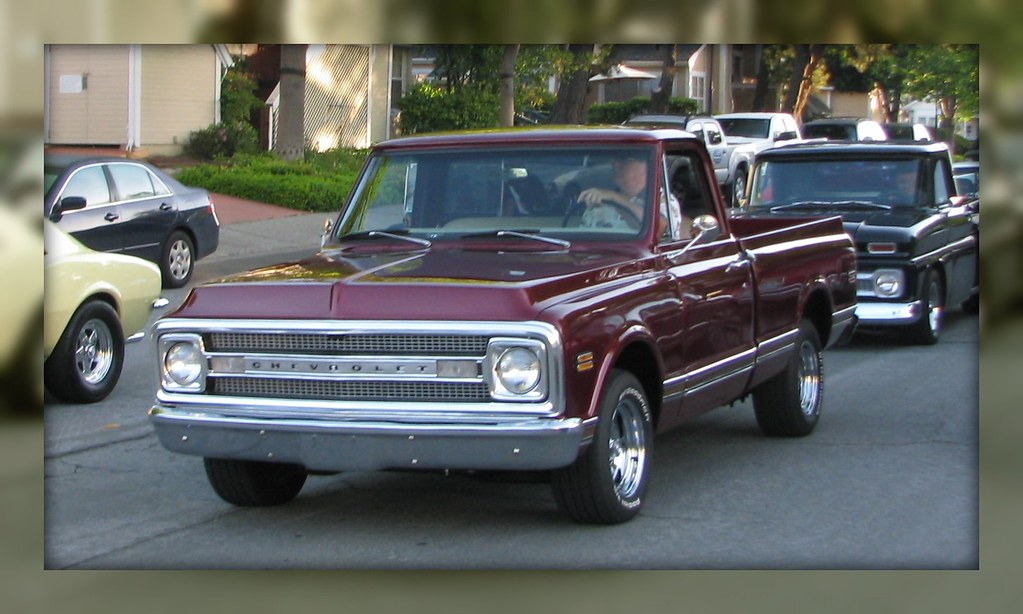 1969 70 Chevrolet Pickup Custom 75 500 C 1