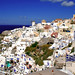 The White Washed Mazes Of Oia