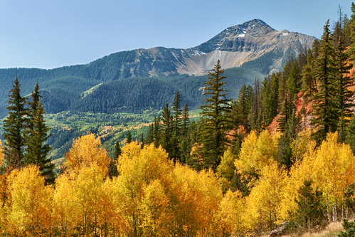 Fall color in the scenic San Juan Mountains... Colorado | by victoriaporter *