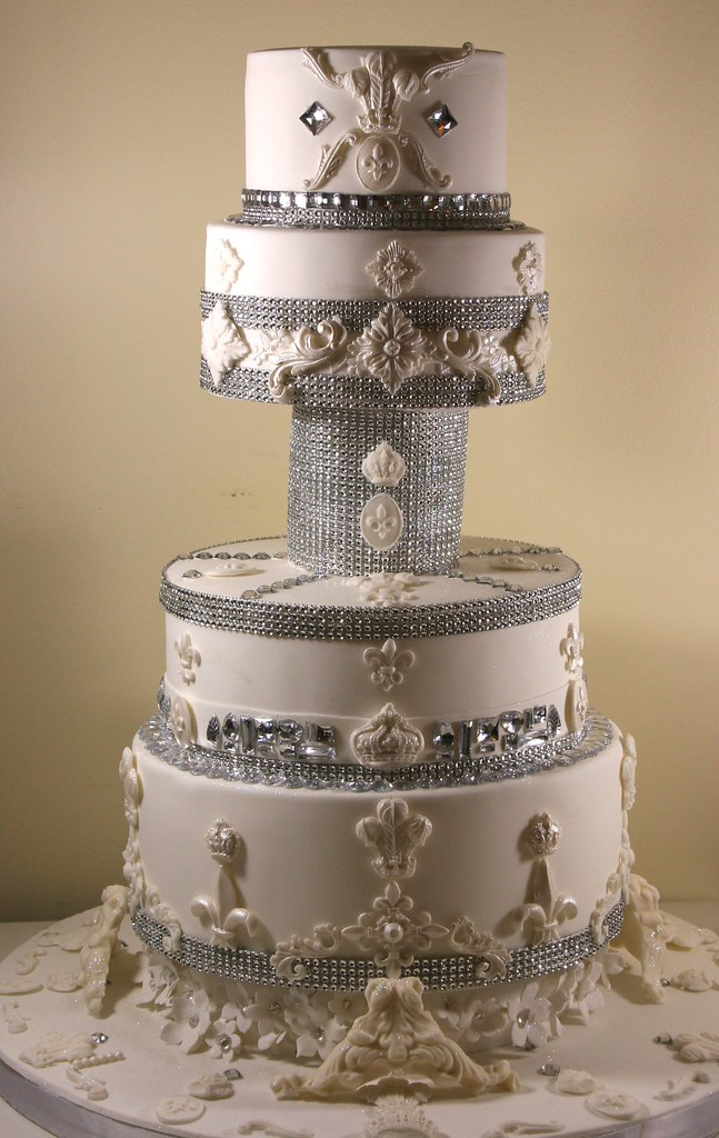 Bling Wedding Cake The Ultimate Princess Cake A Four