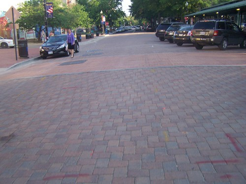 Special pavers, 7th Street SE, Eastern Market