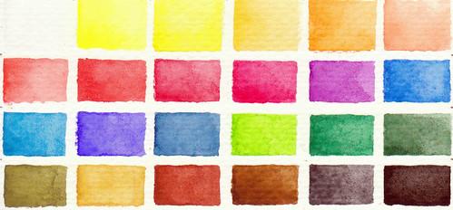 Watercolor Color Palette Palette Petit Color   by