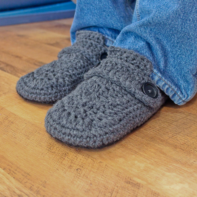 Opa House Slippers Crochet Pattern Flickr - Photo Sharing!