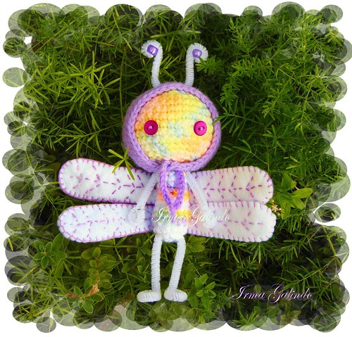 Violet the Dragonfly | by Irma G./ IWORKARTWORK