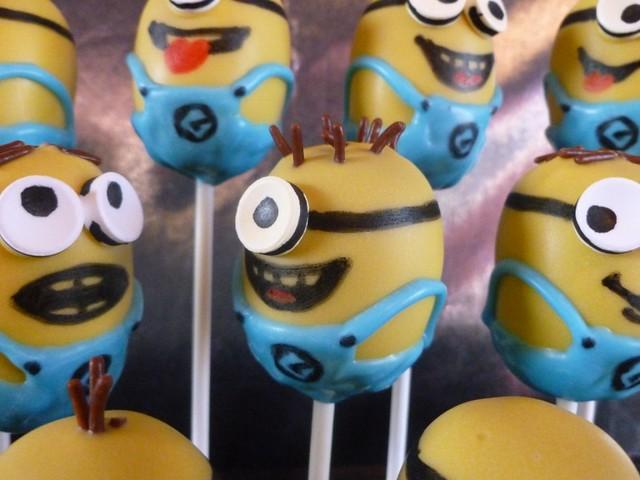 Minion Cake Pops For Sale
