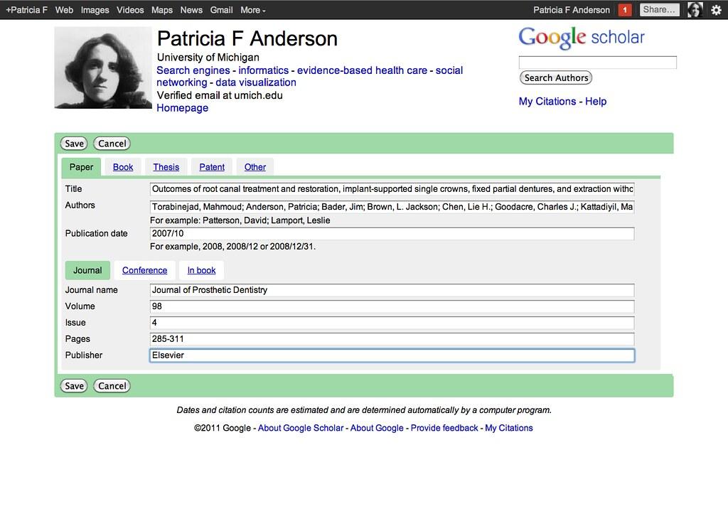 Google Scholar Citations Rosefirerising Flickr