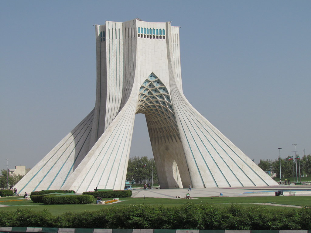 Azadi Tower (برج آزادی), Tehran | Dan | Flickr