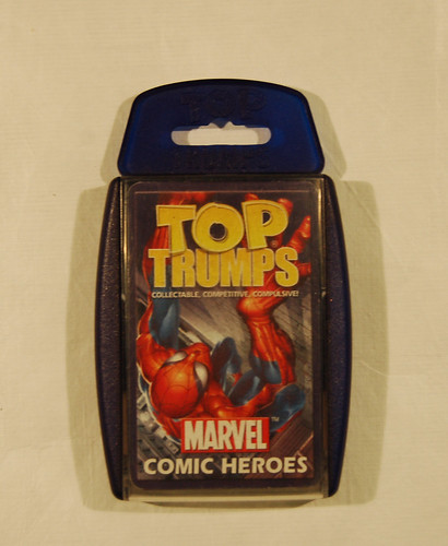 Top Trumps Marvel Comic Heroes | by Museum of Hartlepool