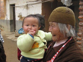 grandma and baby (photo by Amber Mizerak) | by China Travel - The CtripEnglish Travel Guide