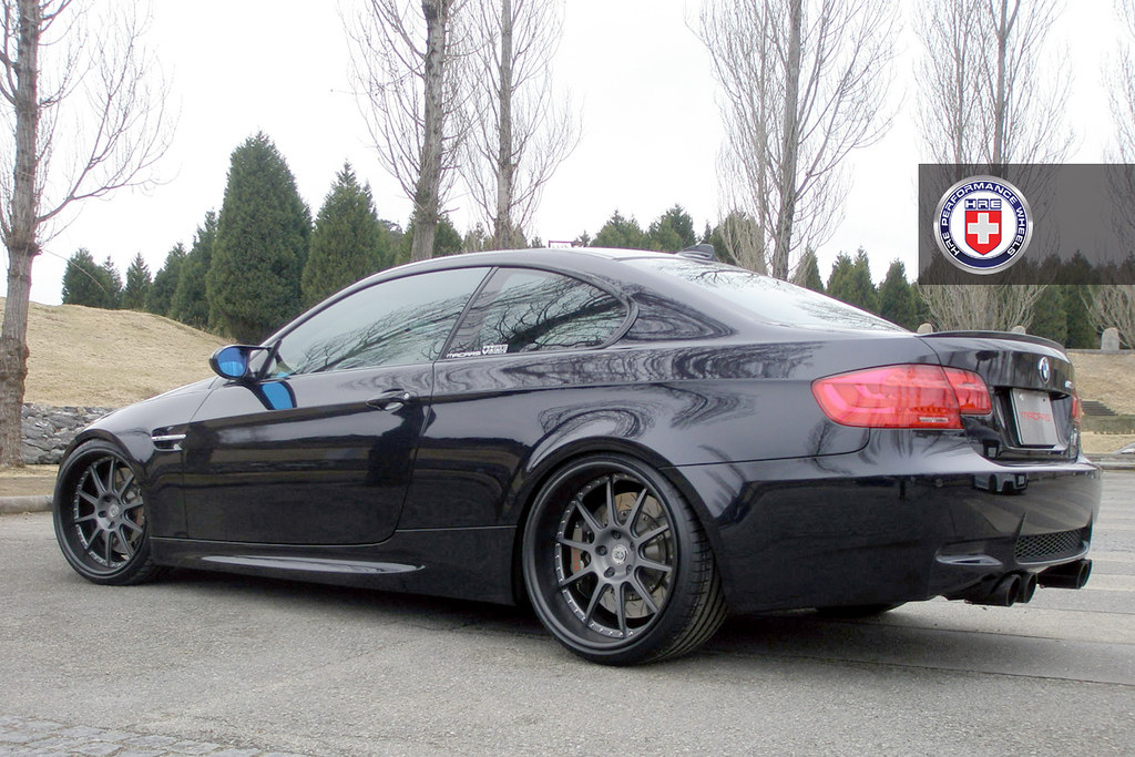 Bmw M6 Gran Cupe >> BMW E92 M3 Black HRE 593RS MACARS | HRE Wheels | Flickr