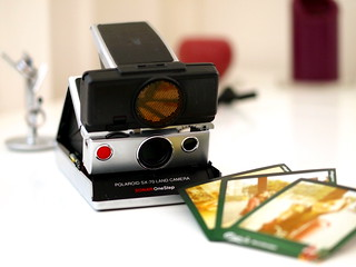 Polaroid SX-70 SONAR OneStep. Product of 1978 | by Eddy WU~