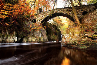 Autumn Colours Hermitage Bridge | by angus clyne
