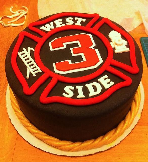 Maltese Cross Birthday Cake
