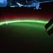 Aurora Australis Over Indian Ocean (NASA, International Space Station, 09/17/11)
