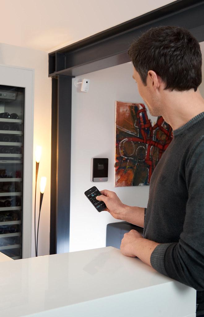 abus secvest ip alarmanlage und pir netzwerkkamera mit iph. Black Bedroom Furniture Sets. Home Design Ideas