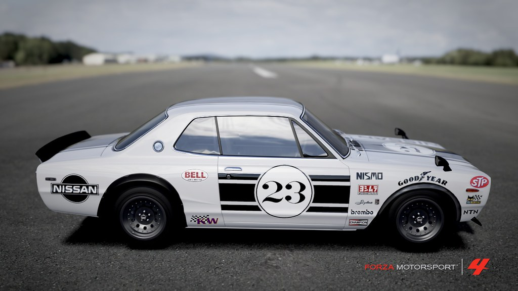 Nissan Skyline 2000 Gt R 71 Race Car Tuono1000boy Flickr