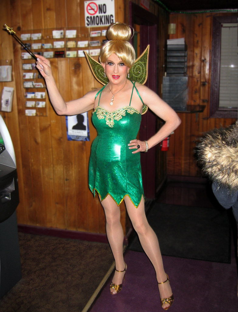 tinkerbell laurie | laurie as tinkerbell for mad myrna's hal… | flickr