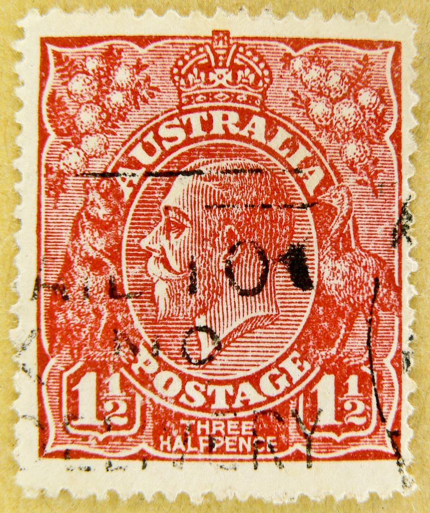 Vintage postage stamp she was?
