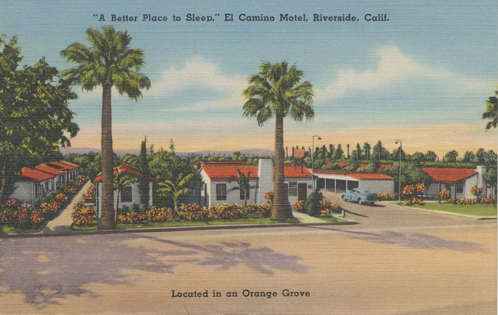 El Camino Motel - Riverside, California